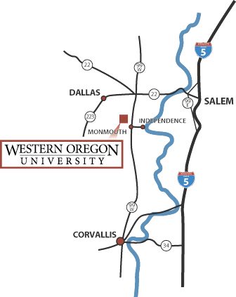WOU Region Map