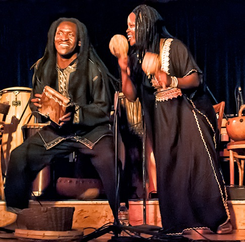 Jacob Mafuleni and Martha Thom