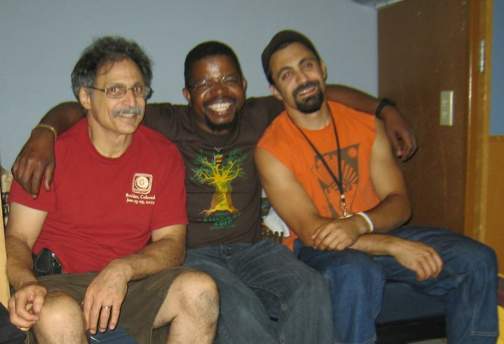 Mark Cohe, Musekiwa Chingodza, and Bud Cohen