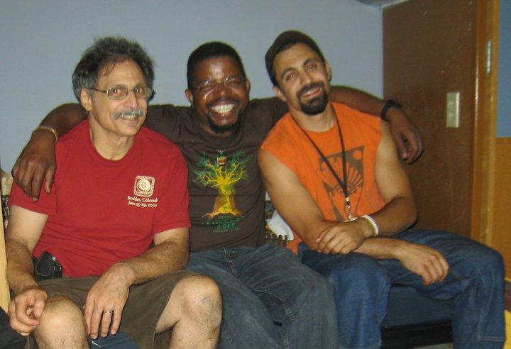 Mark Cohe, Musekiwa Chingodza, and Bud Cohen